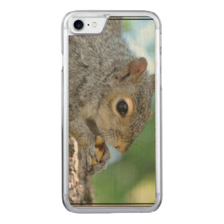 Squirrel Hanging in A Tree Carved iPhone 7 Case