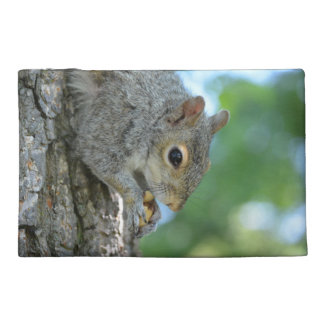Squirrel Hanging in A Tree Travel Accessories Bags
