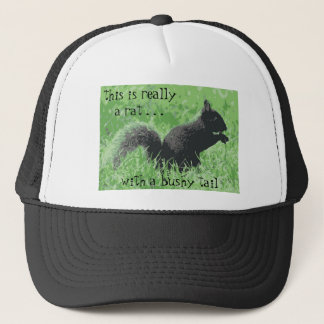 Squirrel Hater Cap