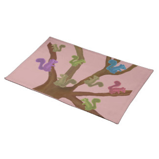 Squirrel Haven Custom Placemats
