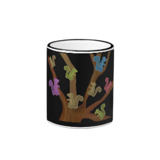 Squirrel Haven Ringer Coffee Mug
