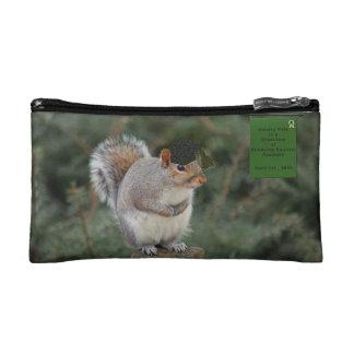 Squirrel Humor Cosmetic Bag