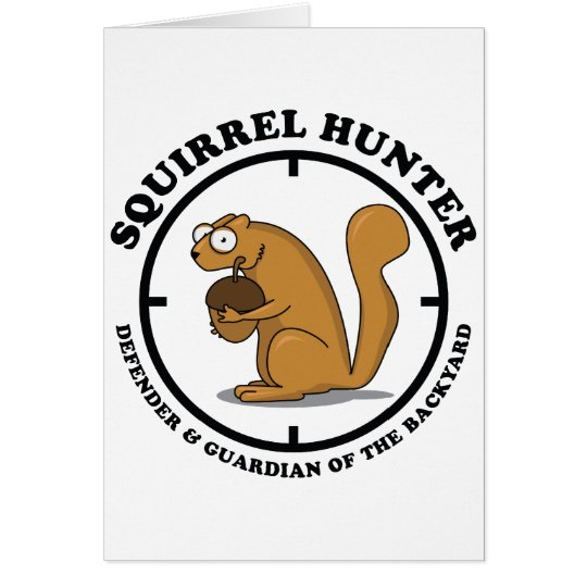 Squirrel Hunter Card