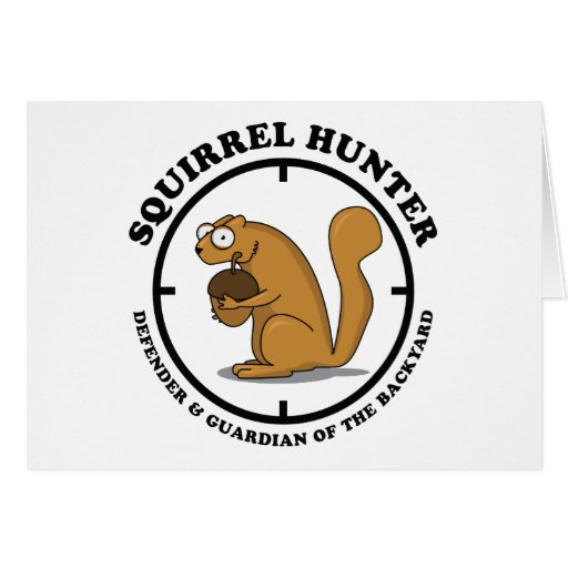 Squirrel Hunter Card