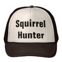 Squirrel Hunter Trucker Hat
