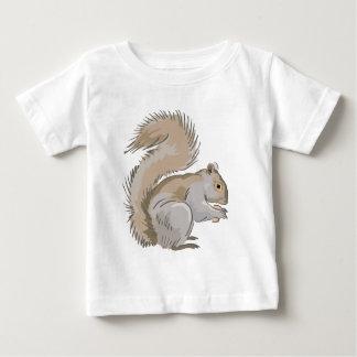 Squirrel Illustration Baby T-Shirt