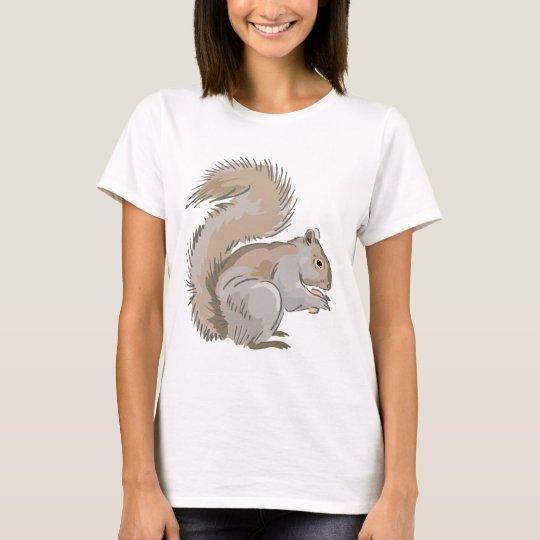 Squirrel Illustration T-Shirt