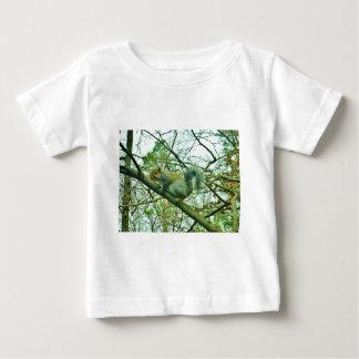 Squirrel in a Light Blue Mist Baby T-Shirt