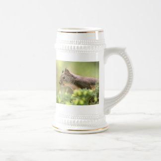 Squirrel in a Tree Beer Stein