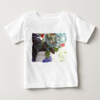 Squirrel in Flower Pot Baby T-Shirt