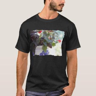 Squirrel in Flower Pot T-Shirt