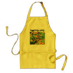 Squirrel In Marigolds (3774) Aprons