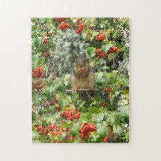 Squirrel in Rowan Jigsaw Puzzle