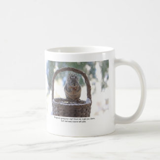 Squirrel in Snow Coffee Mug