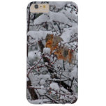 Squirrel in the Snow Barely There iPhone 6 Plus Case