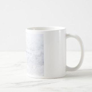 Squirrel in the snow coffee mug