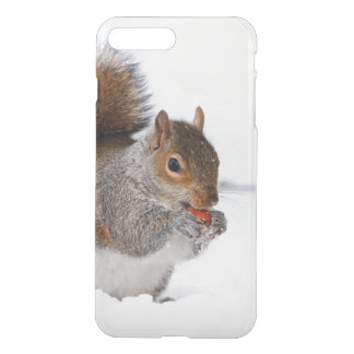 Squirrel in the snow iphone 7 case