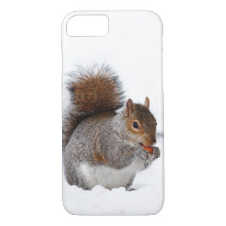Squirrel in the Snow iPhone 7 Case