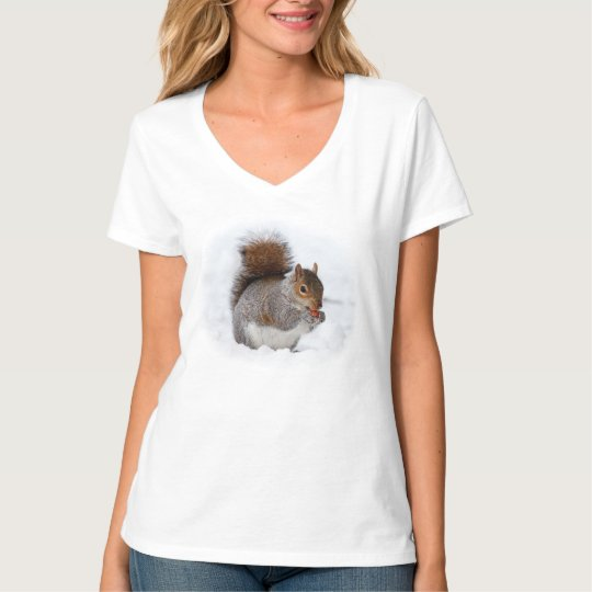 Squirrel in the Snow T-Shirt