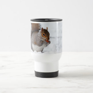 Squirrel in the Winter Coffee Mugs