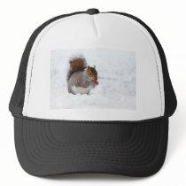 Squirrel in the Winter Trucker Hat
