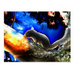 Squirrel In tree Pop Art Style Post Cards