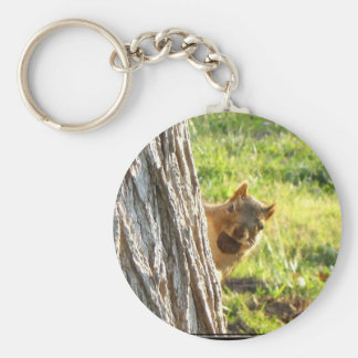Squirrel keychain