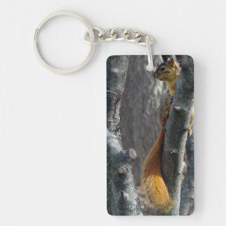 Squirrel Keychain