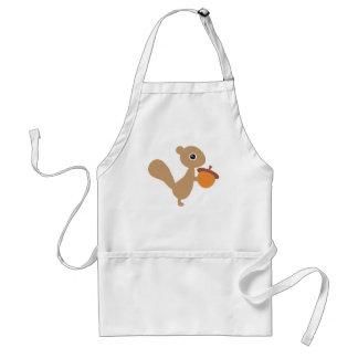 Squirrel Kitchen Apron