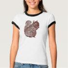 Squirrel Ladies Ringer T-Shirt