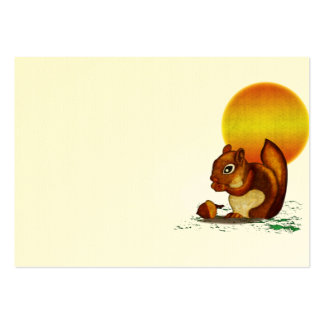 Squirrel Large Business Card