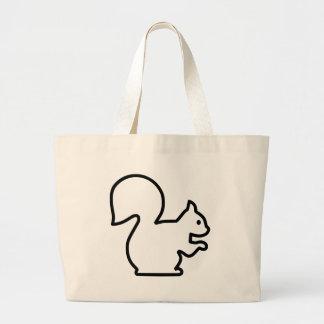 Squirrel Large Tote Bag