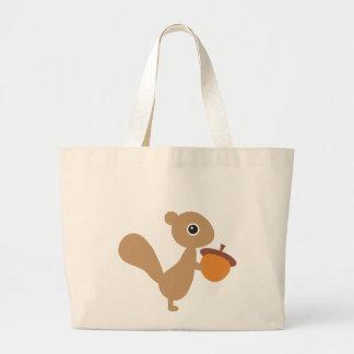 Squirrel! Large Tote Bag