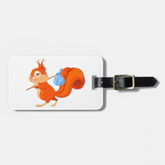 Squirrel Leaving Home Luggage Tags