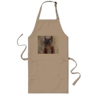 squirrel long apron
