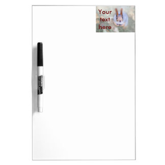 Squirrel looks at you from the bottom up Dry-Erase board