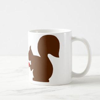 Squirrel love coffee mug