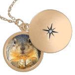 Squirrel Love_ Custom Necklace