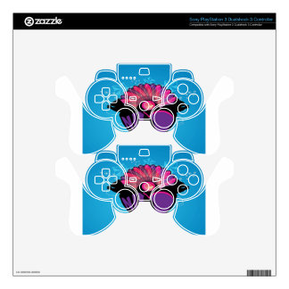 Squirrel love design decal for PS3 controller