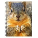 Squirrel Love_ Spiral Notebook