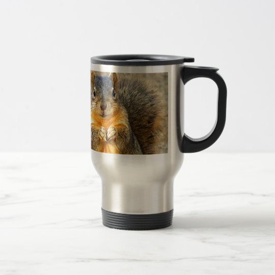 Squirrel Love_ Travel Mug