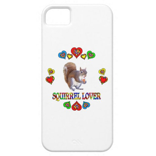 Squirrel Lover iPhone 5 Covers