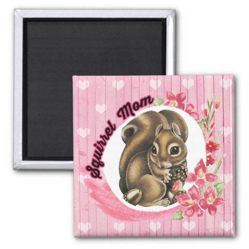 Squirrel Lover Notebook Magnet