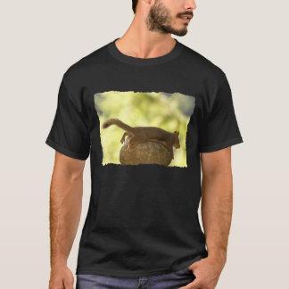 Squirrel Lying Down Photo T-Shirt