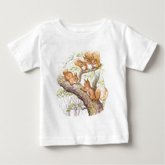 Squirrel Meeting Baby T-Shirt