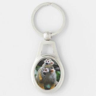 squirrel-monkey-29.jpg llavero plateado ovalado