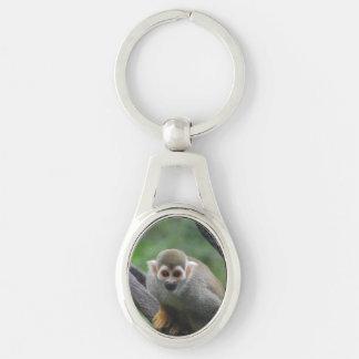 squirrel-monkey-8.jpg llavero plateado ovalado