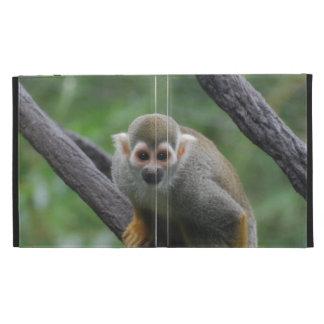 Squirrel Monkey iPad Folio Covers