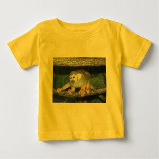 Squirrel Monkey Crouching Baby T-Shirt