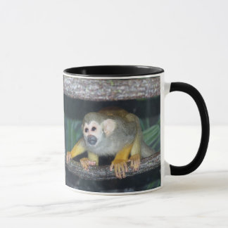 Squirrel Monkey Crouching Mug